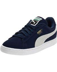 PUMA Suede Classic + Sneaker - Blau