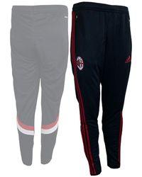 adidas Ac Milan 2014/15 Jogging Bottoms Black