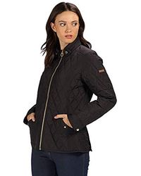 Regatta Cressida Quilted Water Repellent Insulated Jacket - Black