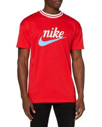 Nike NSW He Top Mesh Gx T-Shirt - Blu