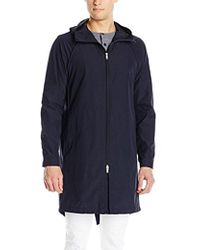 Theory - Cassity B Rent Lightweight Trenchcoat - Lyst