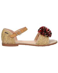 81581ae417a And Girl Sandals Pgs90122 Elsa 816 Natural - Multicolour