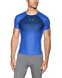 Under Armour Vanish Compression Short Sleeve T-Shirt - Blau