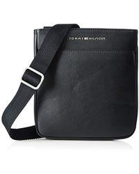 Tommy Hilfiger Am0am02235 City Mini Flat Shoulder - Black