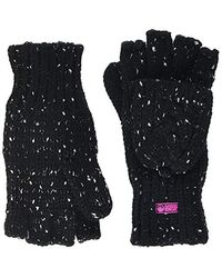 Superdry Gracie Cable Glove - Black