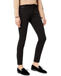 Calvin Klein Jeans Mid Rise Skinny - Pop Black, Mujer, Negro (Pop Black), W24/L30 (Talla del fabricante: 3024)