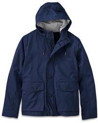 Timberland Regenjacke Jacke Clay Wharf - Blau