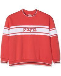 Pepe Jeans Bergamotte PL580855 Sweat-Shirt - Rouge