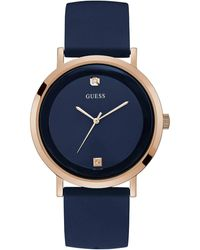 Guess Supernova Gold Blue Dial Watch W1264G3 - Multicolore