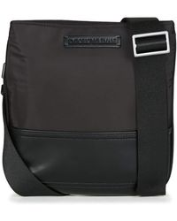 Emporio Armani Logo Pouch Cross Body Bag Schwarz