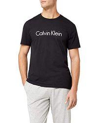 Calvin Klein S/S Crew Neck Maglietta Uomo - Nero