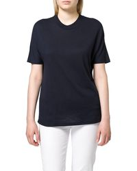 Scotch & Soda - Crew Neck Tee with Grown-On Sleeves T-Shirt - Lyst