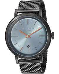 Ted Baker - 'connor' Quartz Stainless-steel-plated Casual Watch, Color:grey (model: Te15062008) - Lyst