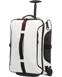 Samsonite Paradiver Light Duffle With Wheels Strictcabine - White