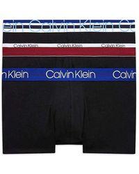 Calvin Klein Boxer Uomo Mod. 000nb1753a Kl5 Nero S - Blue