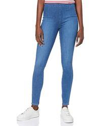Tommy Hilfiger Femma Harlem Legging Hw A Camy Slim Jeans - Bleu