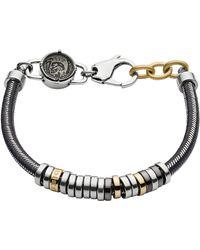 DIESEL Bracelet DX1185040 - Gris