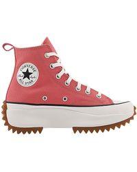 Converse - Runstar Hike Trainers Terracotta Pink Vintage White Gum - 4 Uk - Lyst