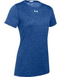 Under Armour Ua Short Sleeve Locker T-shirt - Blue