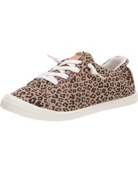 Roxy Womens Rory Slip On Shoe Trainer - Natural