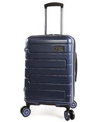 "Original Penguin - Crimson 21"" Hardside Carry-on Spinner Luggage - Lyst"