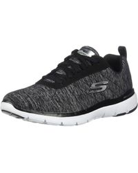 Skechers Flex Appeal 3.0 Sneaker - Black