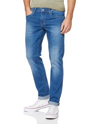 Pepe Jeans Hatch Slim Fit Jeans - Blue