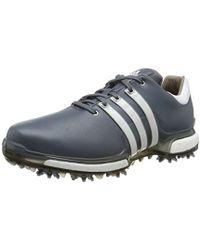 1e2a72e30d820 adidas Tour 360 Boa 2.0 Golf Shoes in Gray for Men - Lyst