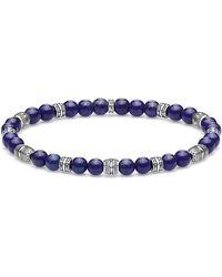 Thomas Sabo Silver Statement Bracelet A1923-531-1-l17 - Blue