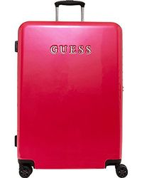 """Guess - Mimsy 28"""" Spinner 8-wheeler Red - Lyst"""
