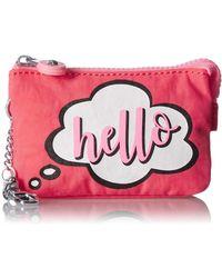 Kipling Mini Creativity Key Chain - Pink