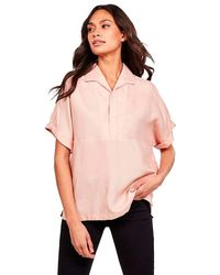G-Star RAW Polo Loose Fit Camicia - Rosa