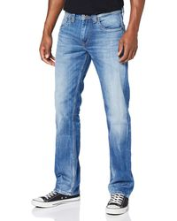 Pepe Jeans Kingston Zip Vaqueros para Hombre - Azul
