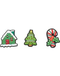 Crocs™ Jibbitz Holiday 3-pack Shoe Charm | Personalize With Jibbitz For Traditional Holidays One-size - Green