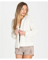 Billabong - Just For You Open Cardigan - Lyst