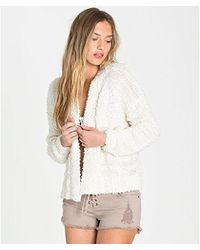 Billabong - Just Fur You Sweater - Lyst