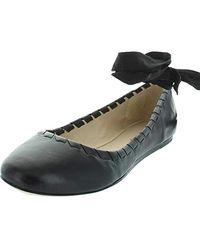 Via Spiga Baylie Ballet Flat - Black