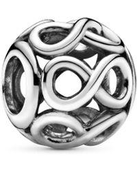 PANDORA Argent Charms et perles - 791872 - Métallisé