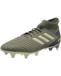 adidas Chaussures de foot Predator 19.1 SG - Vert