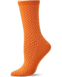 GANT D1. Seasonal Dot Sock Calf - Orange