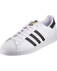 """adidas Originals Sneakers """"superstar 80s Recon"""" De Piel Premium - Blanco"""