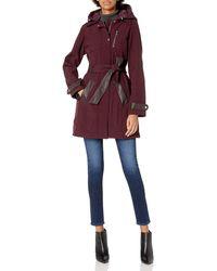 Steve Madden Softshell Fashion Jacket - Red