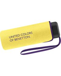 Benetton Folding Umbrella - Yellow