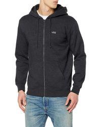 Vans _apparel Herren Basic Zip Hoodie Kapuzenpullover - Black