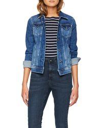 Pepe Jeans Thrift Pl400755cf7 Chaqueta Vaquera - Azul