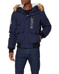 Superdry Everest Bomber Blouson - Bleu