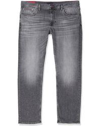 Tommy Hilfiger - Slim Bleecker Pstr Loose Fit Jeans, Grey (caddo Grey B), W33/l34 (size:3431) - Lyst