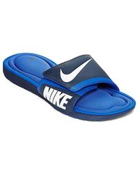 c89bae4960ab Lyst - Nike  solarsoft Comfort Slide  Sandal in Blue for Men