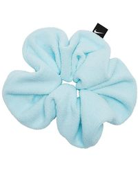 Nike Gathered Hair Tie Large Terry - Blue