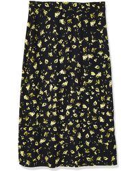 Calvin Klein - Midi Skirt - Lyst